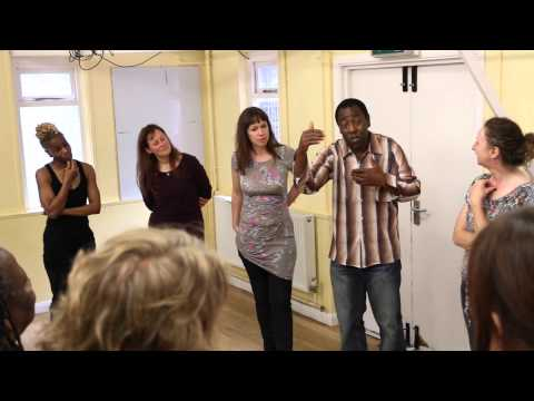 Augusto Boal Rainbow of Desires Workshop by Tony Cealy