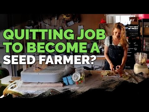 Quitting Your Job to Farm Seeds For a Living? 🌱