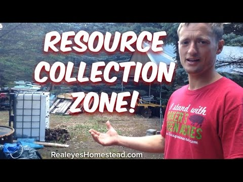 """Upcycled Living - The """"Resource Collection Zone"""" ie; the Junkyard"""