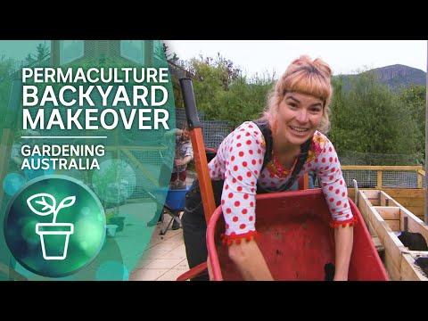 Permablitz – a volunteer fuelled backyard working bee