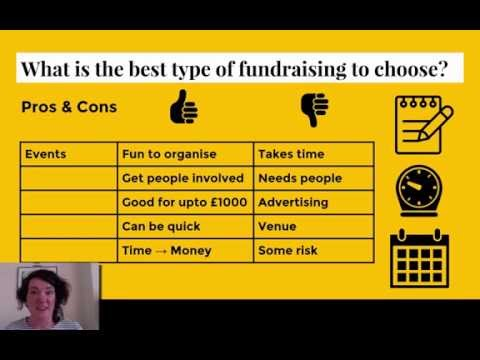 Fundraising: PROs & CONs of different types of fundraising