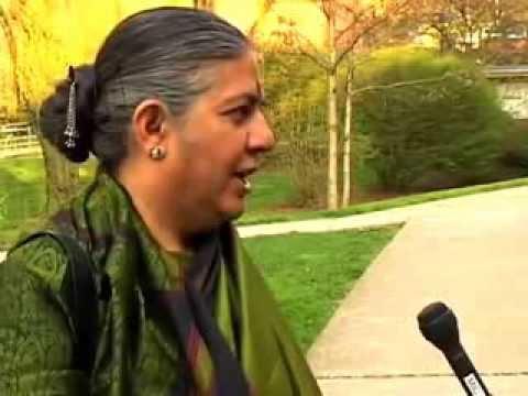 Vandana Shiva Interview about Ecofeminism