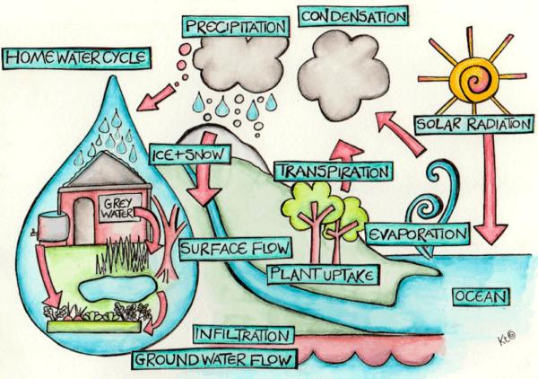 Global Water System illustration