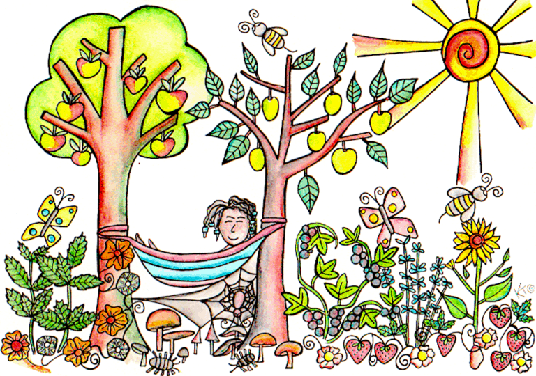 food forest artwork