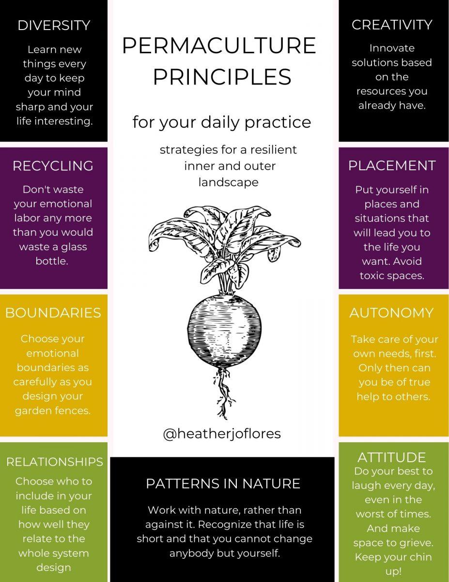 emotional permaculture principles