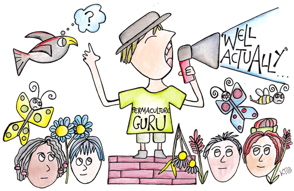 Permavangelism cartoon by Katie Shepherd