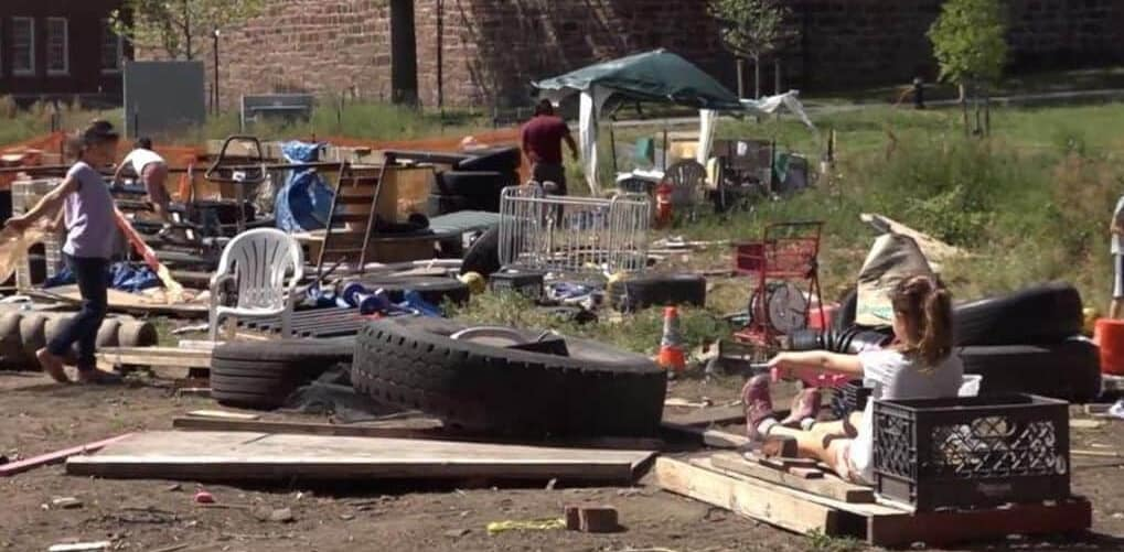 junkyard playground