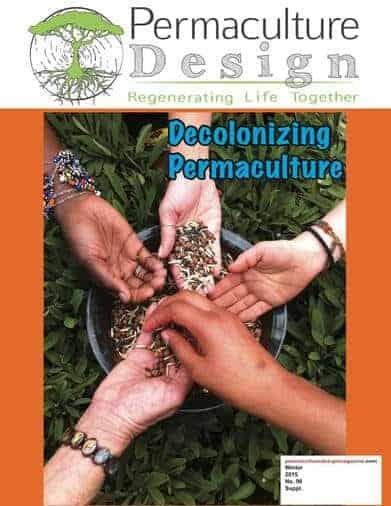 decolonizing permaculture magazine cover image