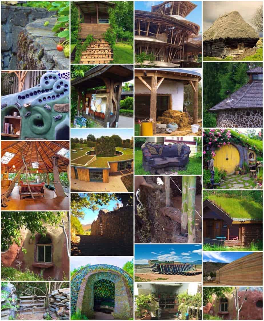 types of eco green building