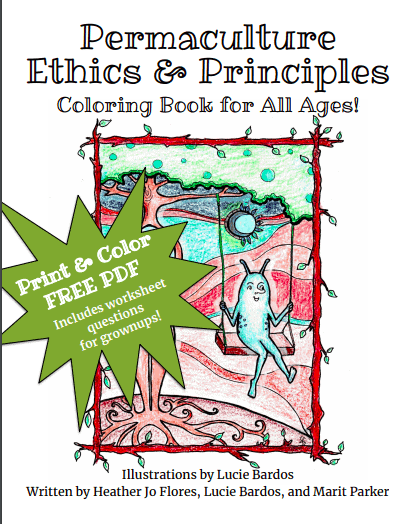 free permaculture coloring book